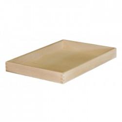 Δίσκος μνημοσύνου ξύλινος χωρίς λαβή 50x35x5 cm 5 τεμάχια
