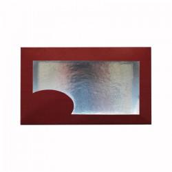 Κουτί μνημοσύνου χάρτινο με παράθυρο 22x13x6.5 cm 10 κιλά