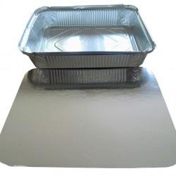 Σκεύος αλουμινίου (μερίδα μπριζόλας) R-29, 100 τεμαχίων