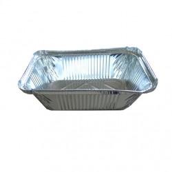 Σκεύος αλουμινίου (μερίδας φαγητού) R-43,  100 τεμαχίων